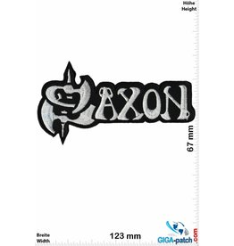 Saxon Saxon -Heavy-Metal-Band - silver