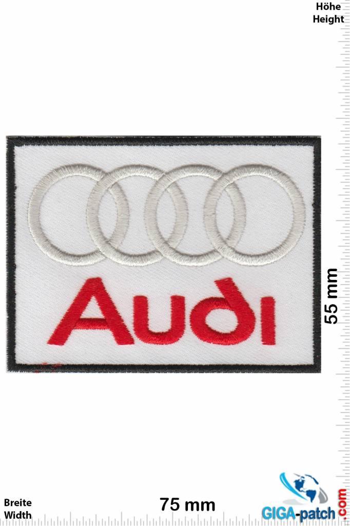 Audi Audi - white red