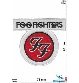 Foo Fighters Foo Fighters - US Rockband - white red