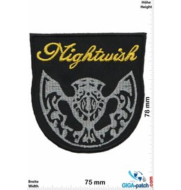 Nightwish Nightwish - gold silver