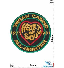 Wigan Casino Wigan Casino - All Nighter - green gold