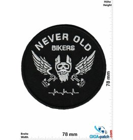 Cafe Racer Never Old Bikers - Caferacer