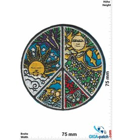 Frieden Peace - Frieden - Earth Sun -  HQ