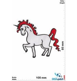 Unicorn Einhorn - Unicorn - red