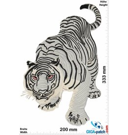 White Tiger White Tiger -  33 cm