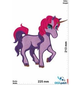 Unicorn Unicorn - Purple - 22 cm