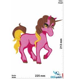 Unicorn Einhorn - Unicorn - Pink - 22 cm