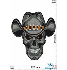 Cowboy Skull Cowboy - Totenkopf - 24 cm - BIG