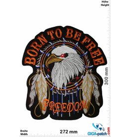 Indianer Born to be Free - Freedom - Eagle Indian - 30 cm