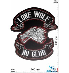 Lone Wolf Lone Wolf No Clubs - 29 cm - BIG
