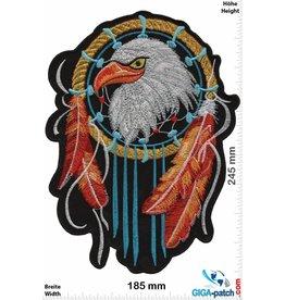Indian Indian Eagle - Dream Catcher- 24 cm - BIG