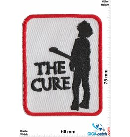 The Cure  The Cure - red black white - Pop-/Rock-/Wave-/Gothic-Band