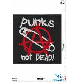 Punks Punks not Dead! - Sicherheitsnadel