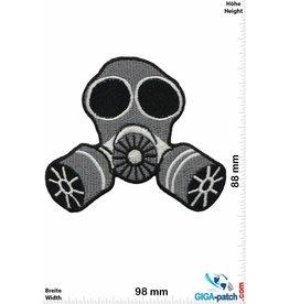 Oldschool Gasmaske - Gas Mask - grey