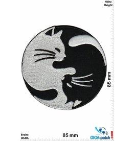 Yin Yang  Yin Yang - Cats - silber