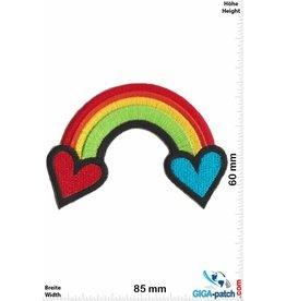Rainbow   Regenbogen - Rainbow  - Herz