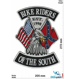 South Biker Biker Riders of the  South - EST. 1998 - 27 cm - BIG