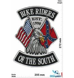 South Biker Biker Riders of the  South - EST. 1998 - 27 cm - BIG