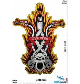 Flamerider Live Free - Flame Rider - 32 cm - BIG