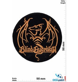 Blind Guardian Blind Guardian - gold round - big