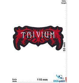 Trivium Trivium - silver red - US Metal-Band