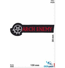 Arch Enemy Arch Enemy - silver red small