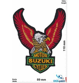 Suzuki Suzuki Motor Cycles - red