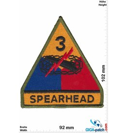 U.S. Army Spearhead - 3rd Armored Division - color - HQ