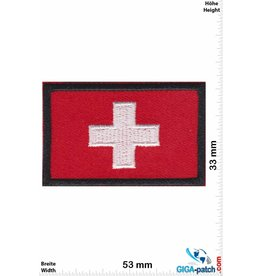 Schweiz, Swiss Flag -Switzerland - Swiss Cross - red black