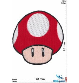 Super Mario Toad - Super Mushroom - Mario Kart - Nintendo