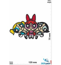 Powerpuff Girls The Powerpuff Girls - Cartoon Network - 3 girls