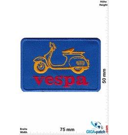 Vespa Vespa Roller - blue red gold