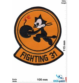U.S. Navy VFA-31 - Strike Fighter Squadron 31 - Tomcatters - Felix the Cat -HQ