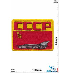 Airforce CCCP -  Soviet Union Army Airforce Patch  - MIG - HQ