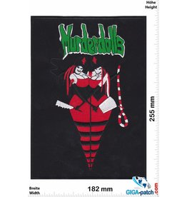 Murderdolls Murderdolls - Glam Metal- und Horrorpunk-Supergroup - 25 cm - BIG
