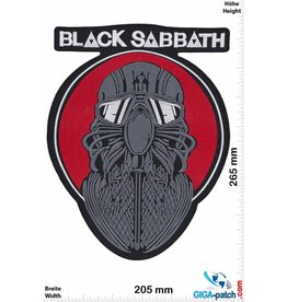 Black Sabbath Black Sabbath - Never Say Die!- 26 cm - BIG