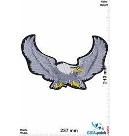 Eagle Adler - Eagle - silver - 23 cm - BIG