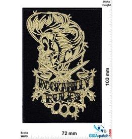 Rock n Roll Rockabilly -Skull - Oldschool - HQ
