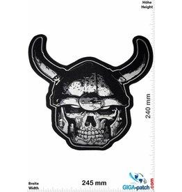 Skull Totenkopf - Skull Head - Wikinger- 24 cm