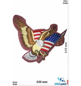 Eagle Adler- USA - Eagle - 33 cm