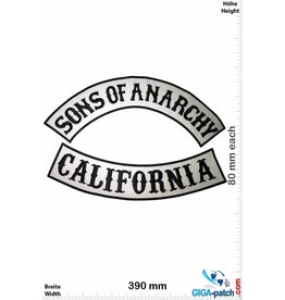 Sons of Anarchy  Sons of Anarchy - California - 2 Teile -  42 cm