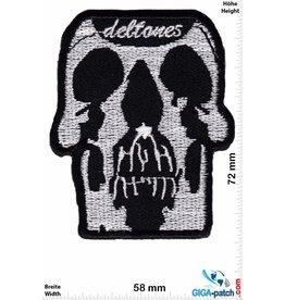 Deftones Deftones - skull
