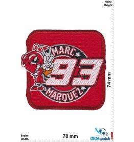 93 Marc Marquez 93 - Marc Márquez - 93 - rot