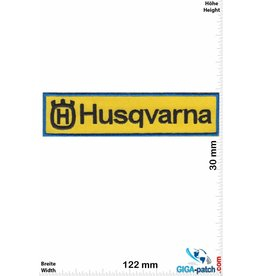 Husqvarna Husqvarna - yellow blue