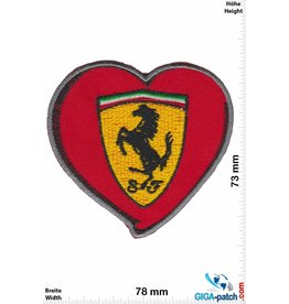 Ferrari Ferrari - red / gold - Heart