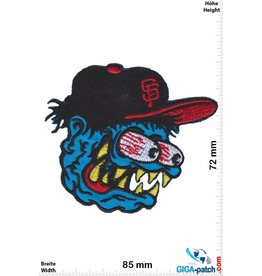 San Francisco Giants  Stupid Head - San Francisco Giants - MBL- blue