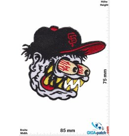 San Francisco Giants  Stupid Head - San Francisco Giants - MBL- white