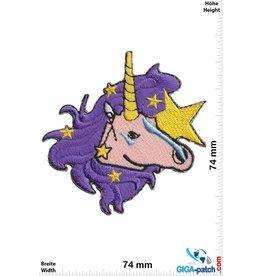 Unicorn Einhorn - Unicorn - purple