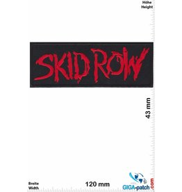 Skid Row  Skid Row - red - Hard-Rock-/Hair-Metal-Band