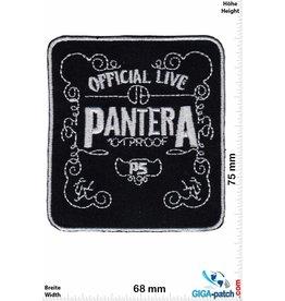Pantera Pantera - silver - Official Live